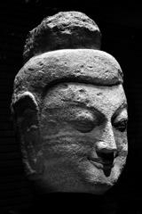 「如来頭部」中国山西省雲南石窟