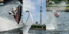 隅田川水面の祭典