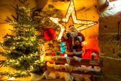 洞窟の中からMerry Christmas!