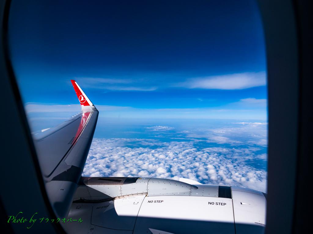 旅の空..
