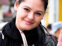スロベニア美人。。