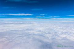 雲の絨毯。。