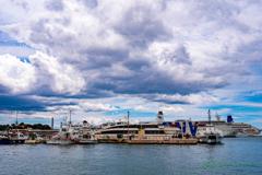 港の風景..