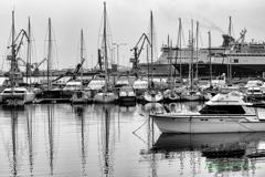 港の風景 〜ヨットハーバー 〜