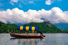 湖上風景..