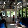 去年の夏電車