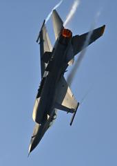 F‐16 デモフライト訓練