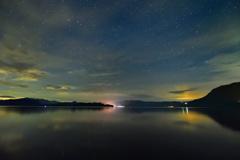 十和田湖の夜景