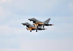 日英共同訓練 6 ユーロファイター