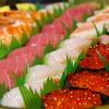 明けましてお寿司