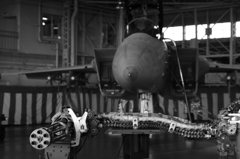 F-15とガトリング