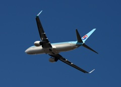 Krean 737-800 出発