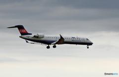 「☁」 IBEX CRJ-702 JA09RJ 着陸