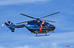 千葉県警ヘリ BK-117