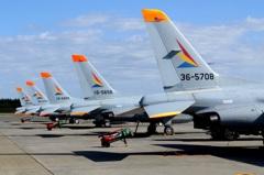 入間航空祭(76)入間 T-4 定番の撮り方です?
