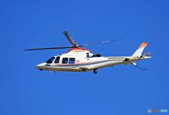 成田で!Eurocopter EC135-P2「ゆめどり」JA03CP