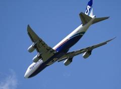 出発 NCA 747-8F
