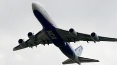 離陸(22)NCA 747-8KZ