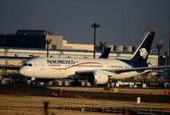Aeromexico 787-8  出発