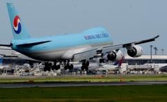 着陸(118)KOREAN CARGO 747-8F
