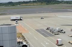 空港 風景(22)働く人