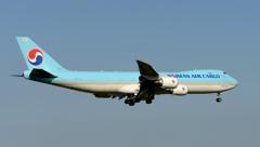 着陸(60)KOREAN Cargo 747-8F