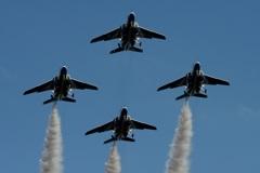 入間航空祭(93)ブルーインパルス (T-4)