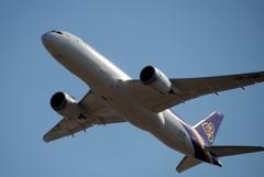 THAI 787-8 飛行