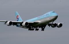 着陸(117)KOREAN CARGO 747-8F