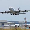「すかい」 タイ航空 A380-841 HS-TUE Takeoff