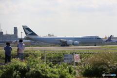 「デカイね」CATHAY 747-867F B-LJJ/ジャンボ保存委員会