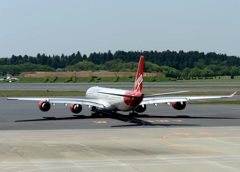 virgin Surfer Girl A340-600