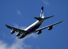離陸 NCA 747-8F