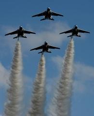 入間航空祭(99)アクロバット ブルーインパルス T-4
