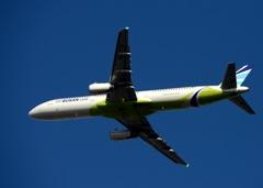 Air Busan A321-200 離陸