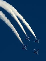 入間航空祭(96) アクロバット ブルーインパルス T-4