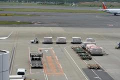 空港 風景(20)働く人