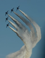 入間航空祭(94)T-4 ブルーインパルス