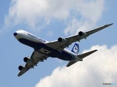 NCA 747-8F 飛行