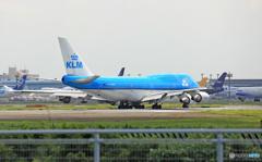 離陸KLM 747-400 PH-BFK/ジャンボ保存委員会