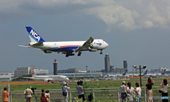 「日本のジャンボ」NCA 747-8KZF JA15KZ