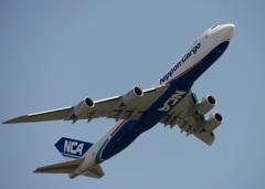 出発 NCA 747-8KZF