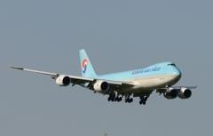 着陸(61)KOREAN Cargo 747-8F