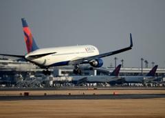 着陸(213)DELTA 767-332