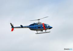 千葉県警ヘリ「かとり」Bell406 JA6170