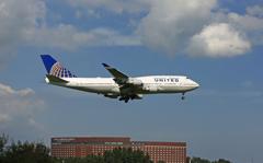 ジャンボ保存委員会 UNITED 747-400 N105UA