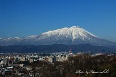 冬ばれ - 男前岩手山
