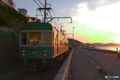 朝の江ノ電