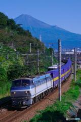 富士山と2059レ