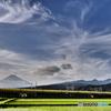 インプレッシブアートでドクターイエローと富士山